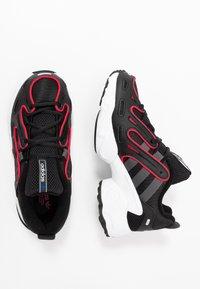 adidas Originals - EQT GAZELLE RUNNING-STYLE SHOES - Matalavartiset tennarit - core black/grey six/energie pink - 2