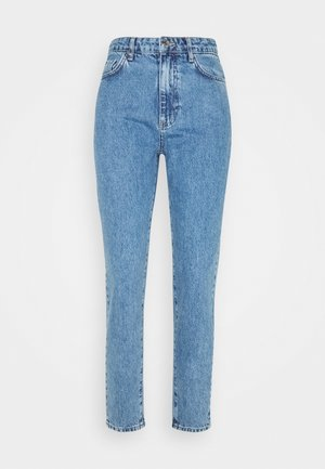 DAGNY HIGHWAIST - Džíny Relaxed Fit - mid blue