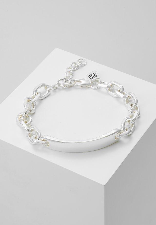 BREAK ENTER CHAIN BRACELET - Bracelet - silver-coloured