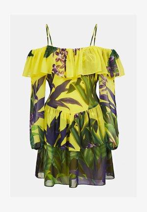 BLUMENPRINT - Day dress - mehrfarbig  gelb
