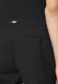 KARL LAGERFELD - Kalhoty - black - 3