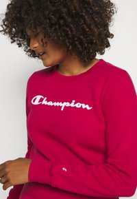 Champion - CREWNECK  - Sweatshirt - red - 3