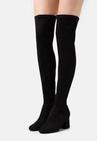 Even&Odd - Overknee laarzen - black - 0