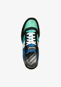 Saucony - SCHUHE JAZZ - Sneakers - black/blue/green - 1