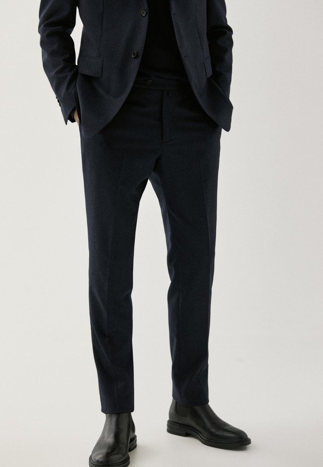 DER QUALITÄT SUPER - Suit trousers - dark blue