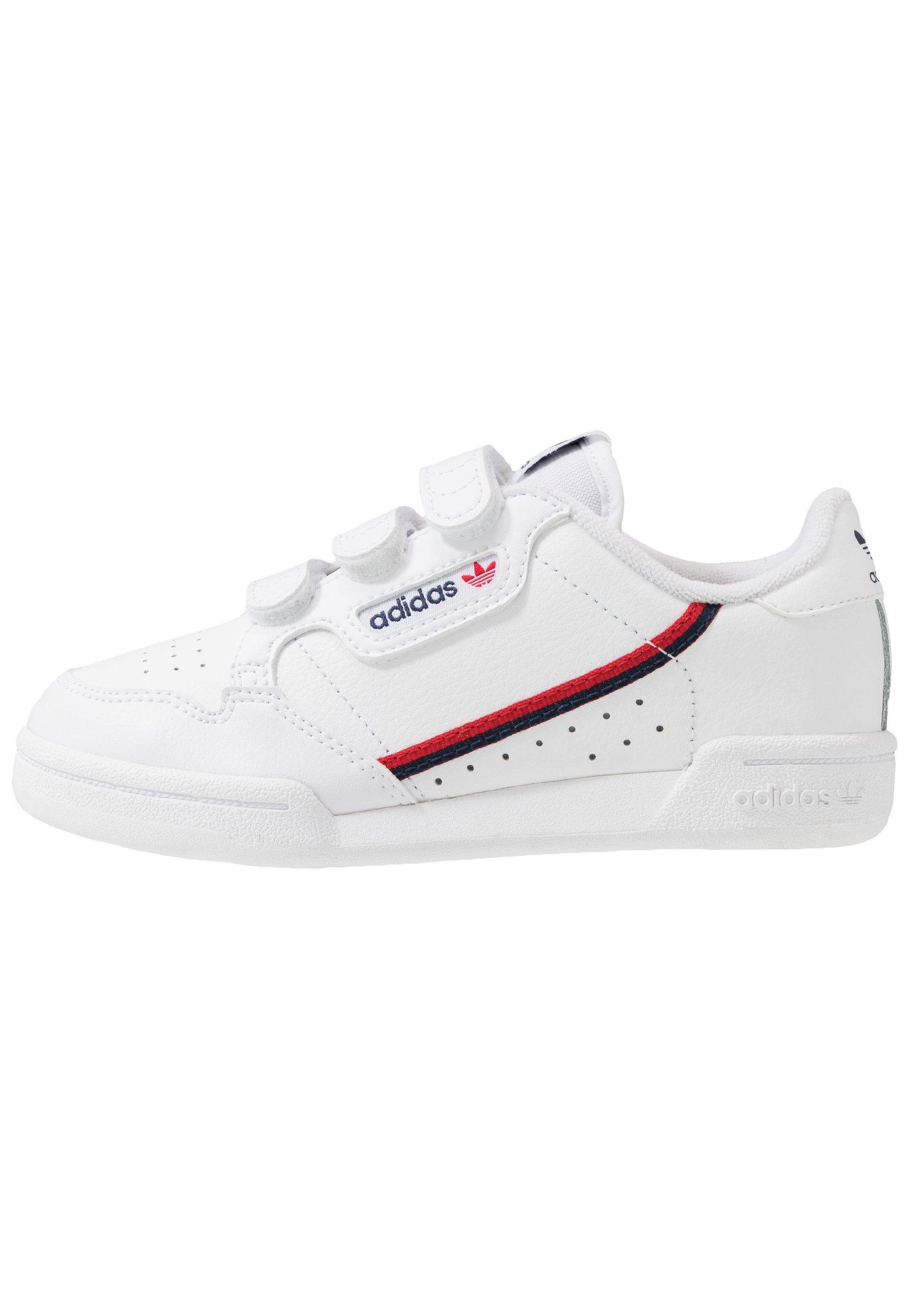 Adidas Originals Continental 80 Sko Footwear WhiteScarlet
