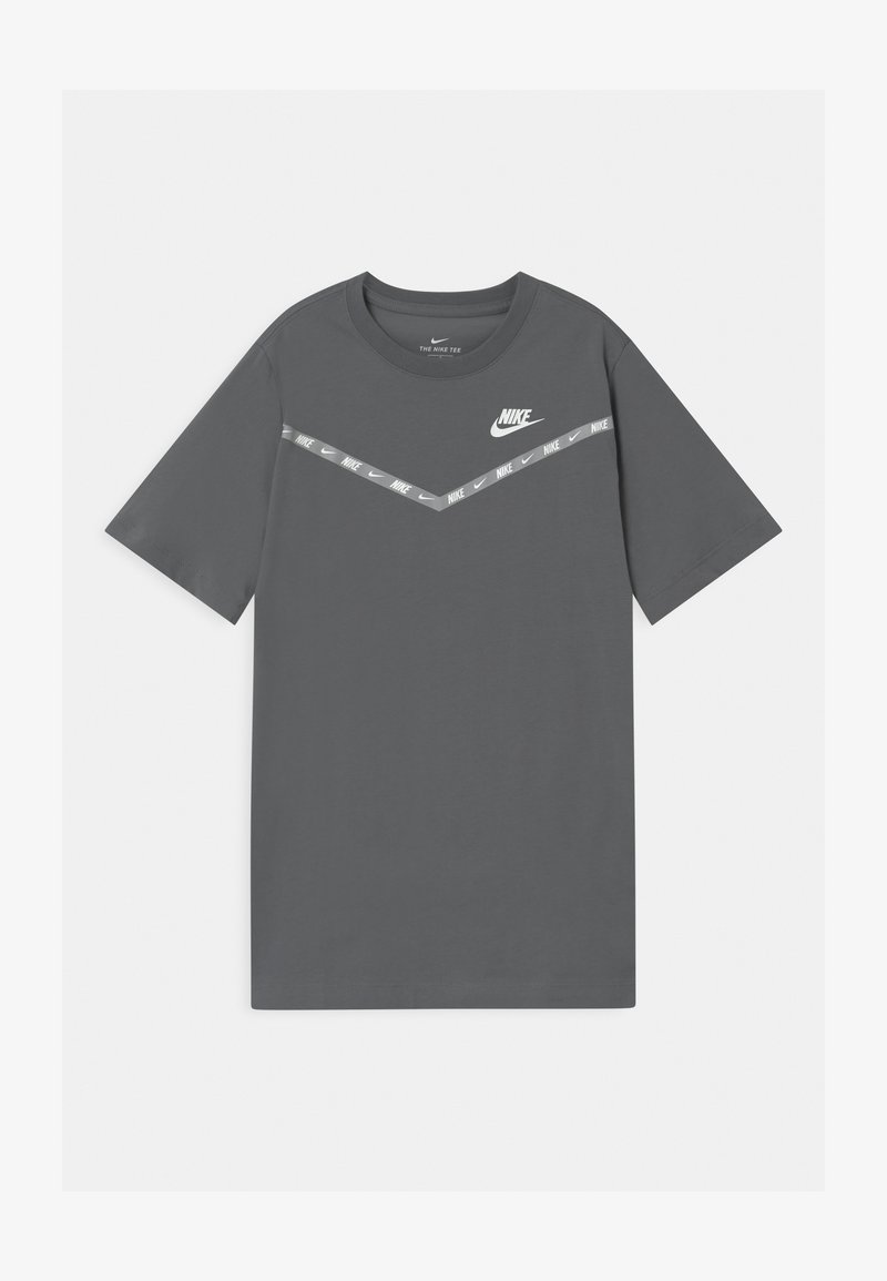 Nike Sportswear - CHEVRON - Print T-shirt - smoke grey