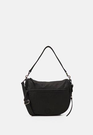MIDI HOBO - Handbag - black