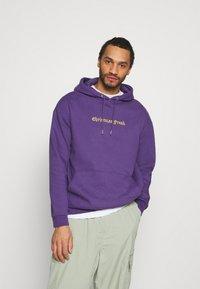 YOURTURN - UNISEX - Jersey con capucha - purple - 0