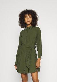 WAL G. - LAURY SHIRT DRESS - Shirt dress - khaki - 0