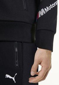 Puma - BMW MOTORSPORT  - Zip-up hoodie -  black - 3