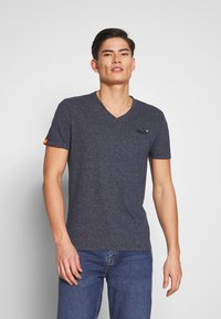 Superdry - T-shirt basique - abyss navy feeder - 0
