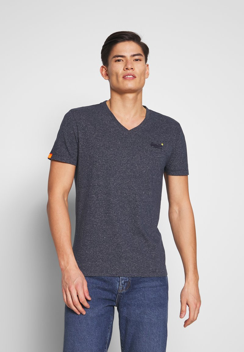Superdry - T-shirt basique - abyss navy feeder