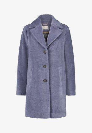 ISKO HAIRY PAN 663 - Classic coat - steel blue a