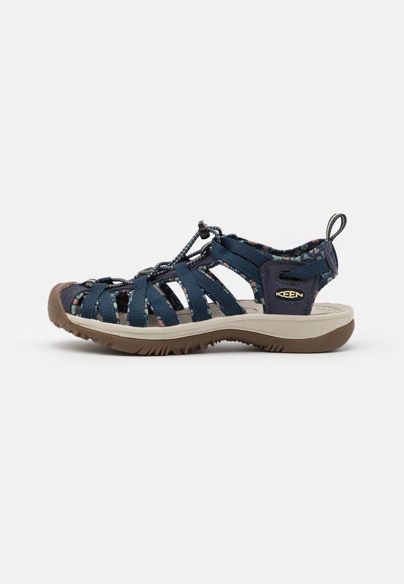 Keen - WHISPER - Walking sandals - navy/birch