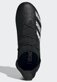 adidas Performance - PREDATOR - Moulded stud football boots - black - 2