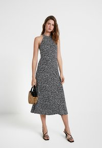 KIOMI TALL - Maxi dress - white/black - 1
