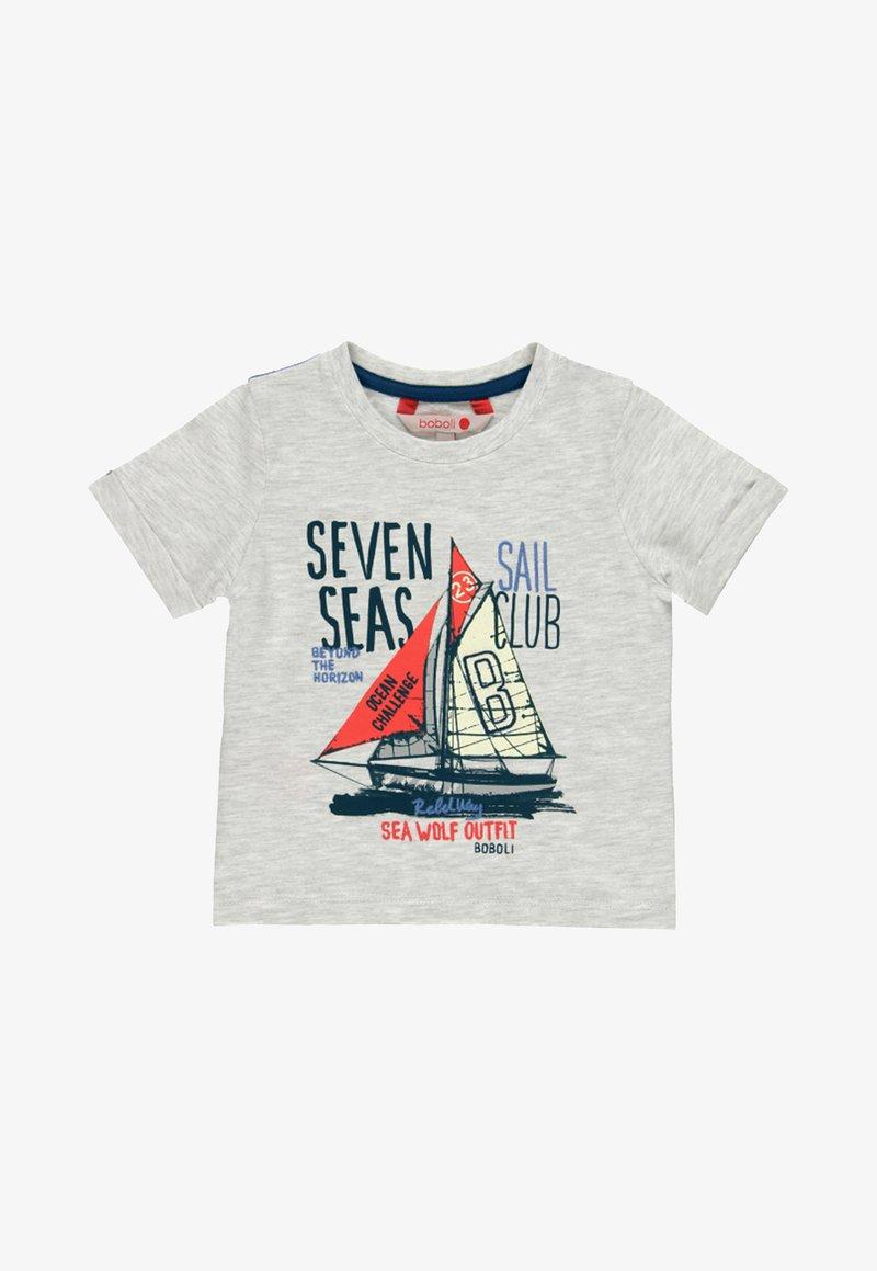 Boboli - Print T-shirt - grey