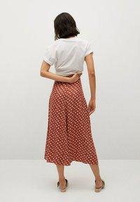 Mango - A-line skirt - braun - 2