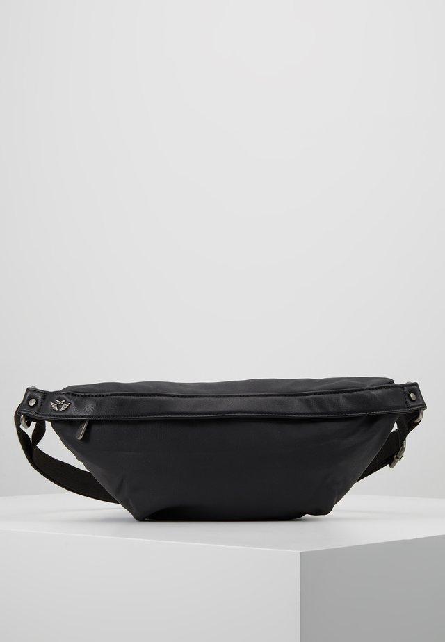 HEDI COATED - Rumpetaske - black