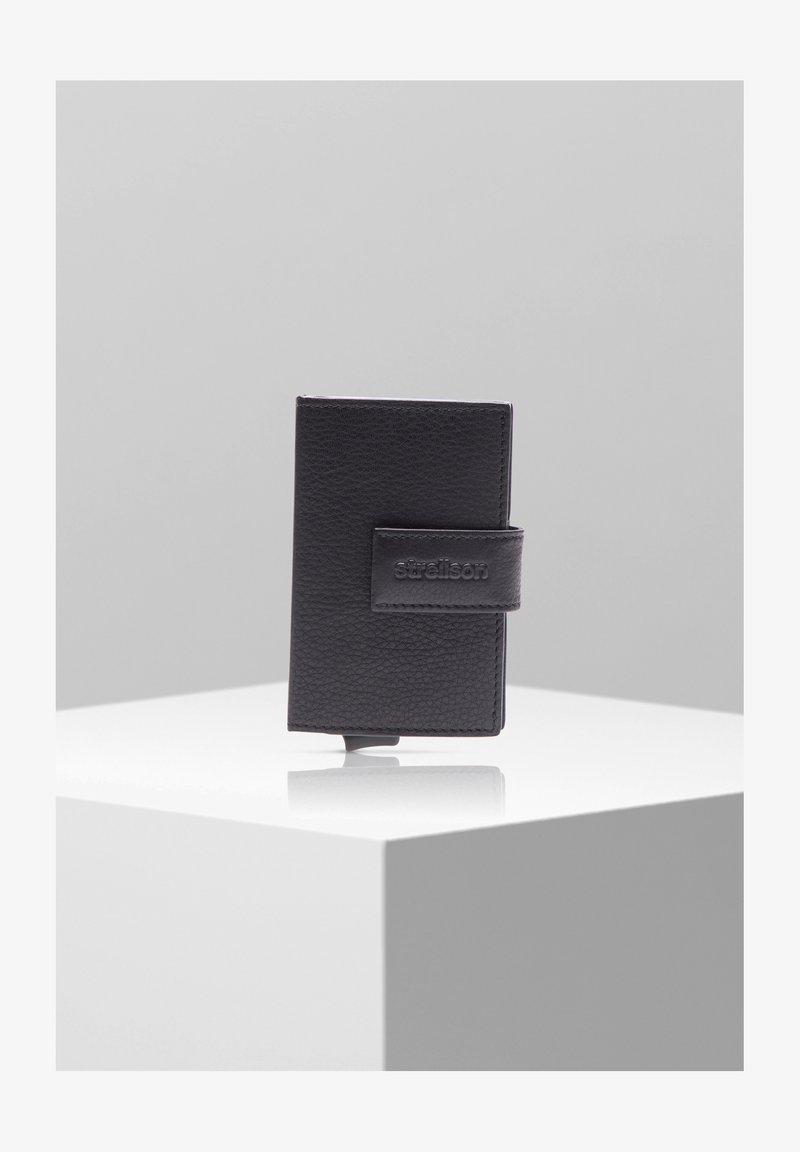 Strellson Premium - CARTER C-TWO E-CAGE SV8F - Wallet - black