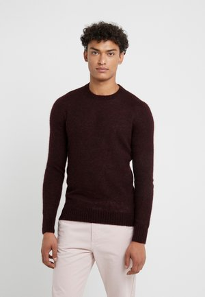 CREW NECK - Pullover - brown
