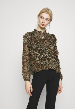 ONLFLORA - Blouse - black