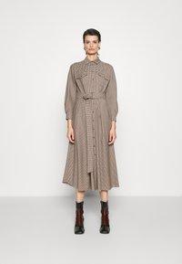 WEEKEND MaxMara - OTARIA - Shirt dress - dark brown - 0