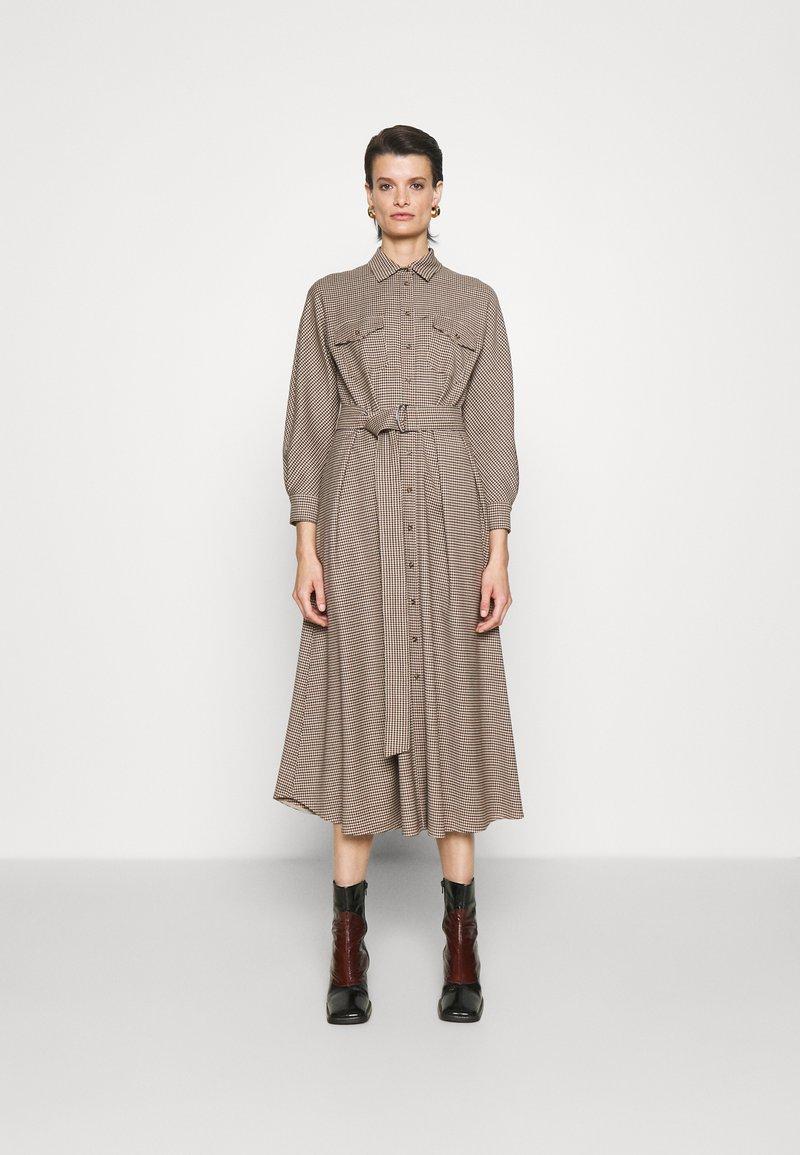 WEEKEND MaxMara - OTARIA - Shirt dress - dark brown