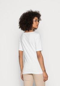 Marc O'Polo - SHORT SLEEVE ROUND NECK - Basic T-shirt - white - 2
