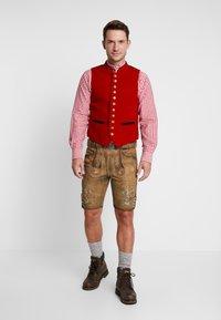 Stockerpoint - THOMAS - Kožené kalhoty - korn - 1
