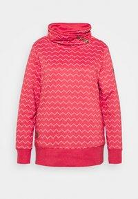 Ragwear Plus - CHEVRON - Mikina - red - 3