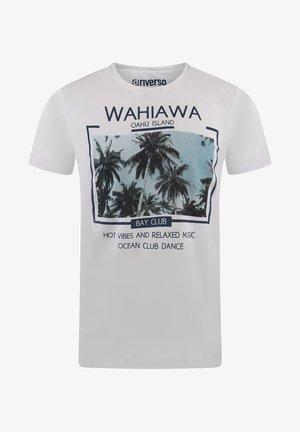 RIVLUKAS - Print T-shirt - weiß (mjd)