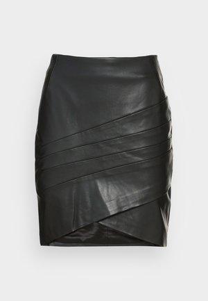 ROSALBA  - Mini skirt - jet black
