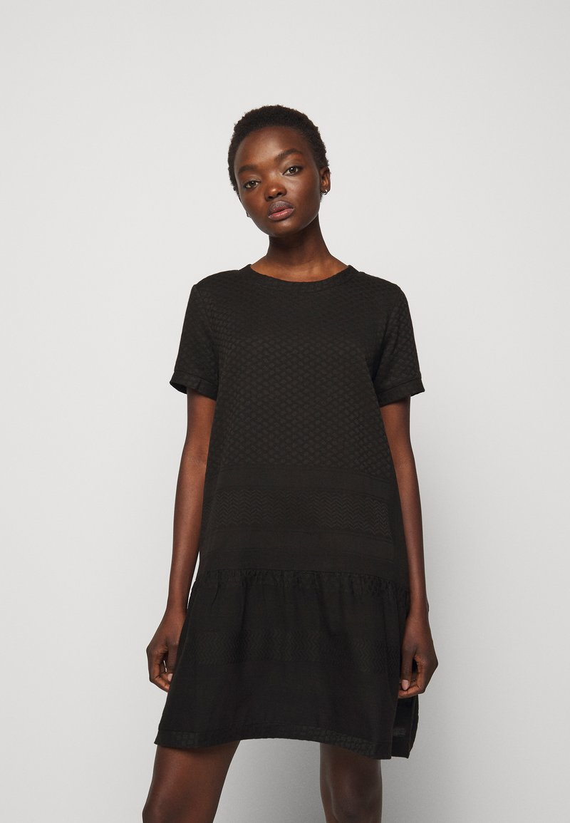 CECILIE copenhagen - DRESS - Day dress - black