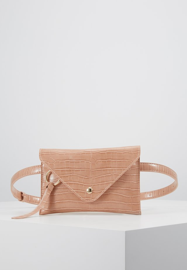 IDA - Bum bag - peach croco