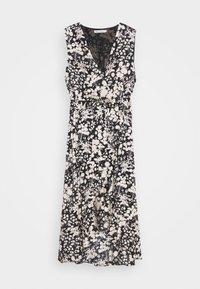 ASSIA DRESS - Společenské šaty - black/cream