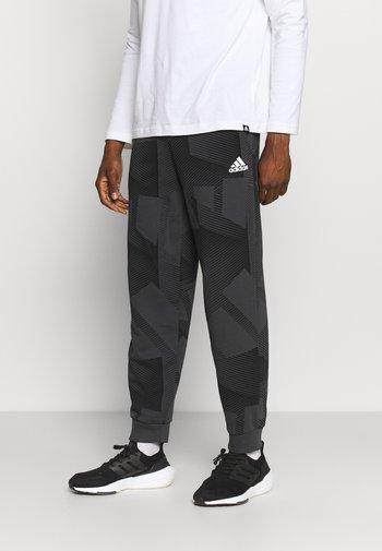GRAPHIC SEASONAL - Pantaloni sportivi - carbon