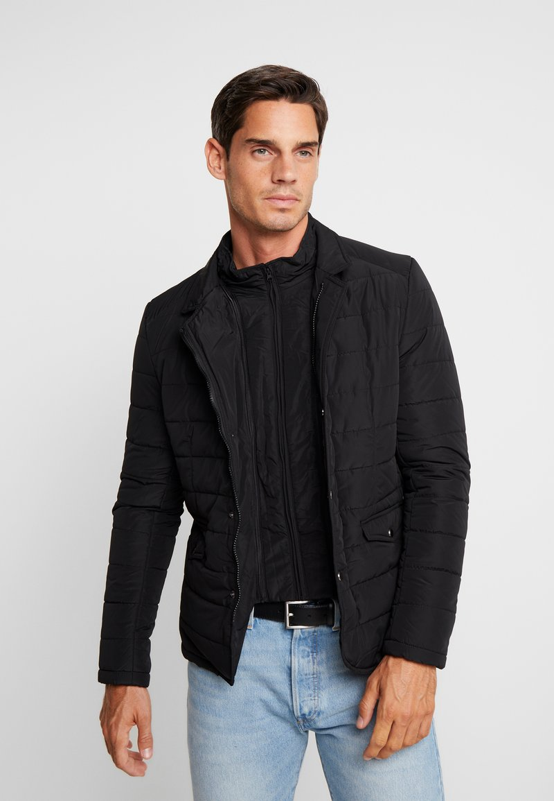 Teddy Smith - V-ROBIN - Light jacket - black
