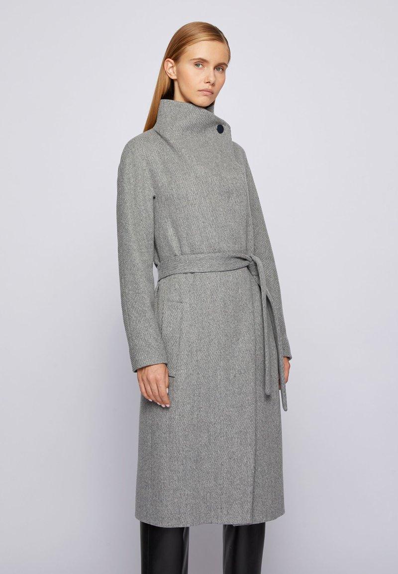 BOSS - CEDANI - Classic coat - grey