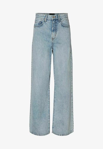 Flared Jeans - light blue denim