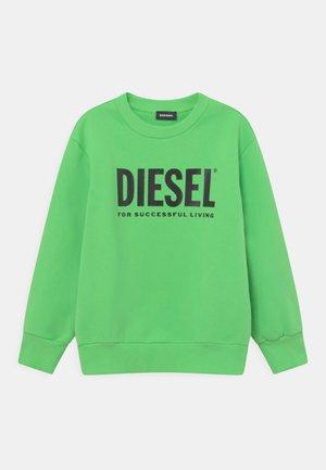 SCREWDIVISION LOGO UNISEX - Sweatshirts - green fluo