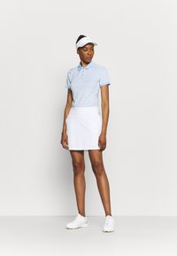 Kjus - WOMEN ENYA - Sports shirt - buttercream/cloud blue - 1