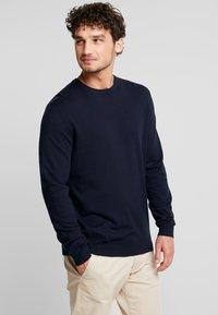 Esprit - Stickad tröja - navy - 0