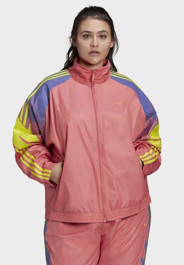 FAKTEN ORIGINALS JACKE – GROSSE GRÖSSEN - Training jacket - pink