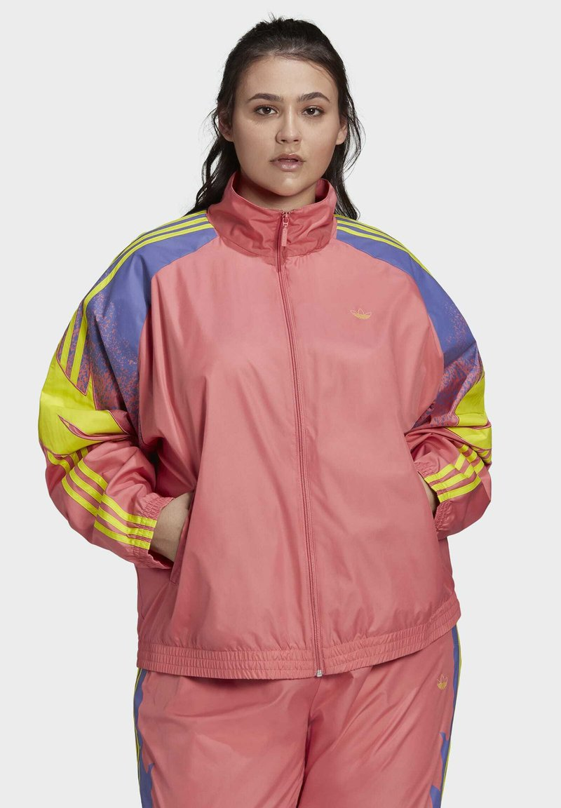 adidas Originals - FAKTEN ORIGINALS JACKE – GROSSE GRÖSSEN - Training jacket - pink