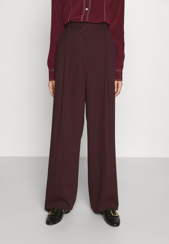 TROUSERS - Bukse - red