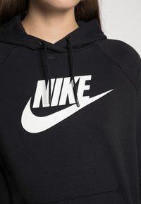 Nike Sportswear - HOODIE - Hoodie - black/white - 4