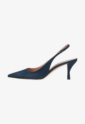 OLIVIA SLING - Slingback ballet pumps - dark blue