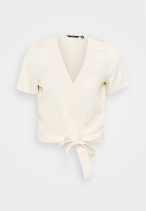 VMSIMPLY EASY TIE - Blus - birch